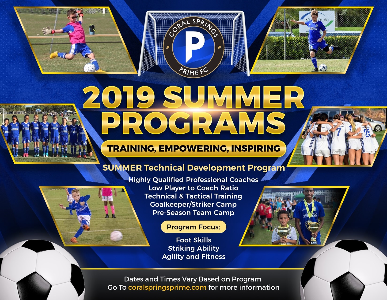 2019 summer camp flyer